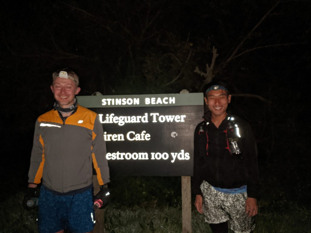 Fastest Known Time: From Stinson, To Tam Summit, To Diablo Summit 5