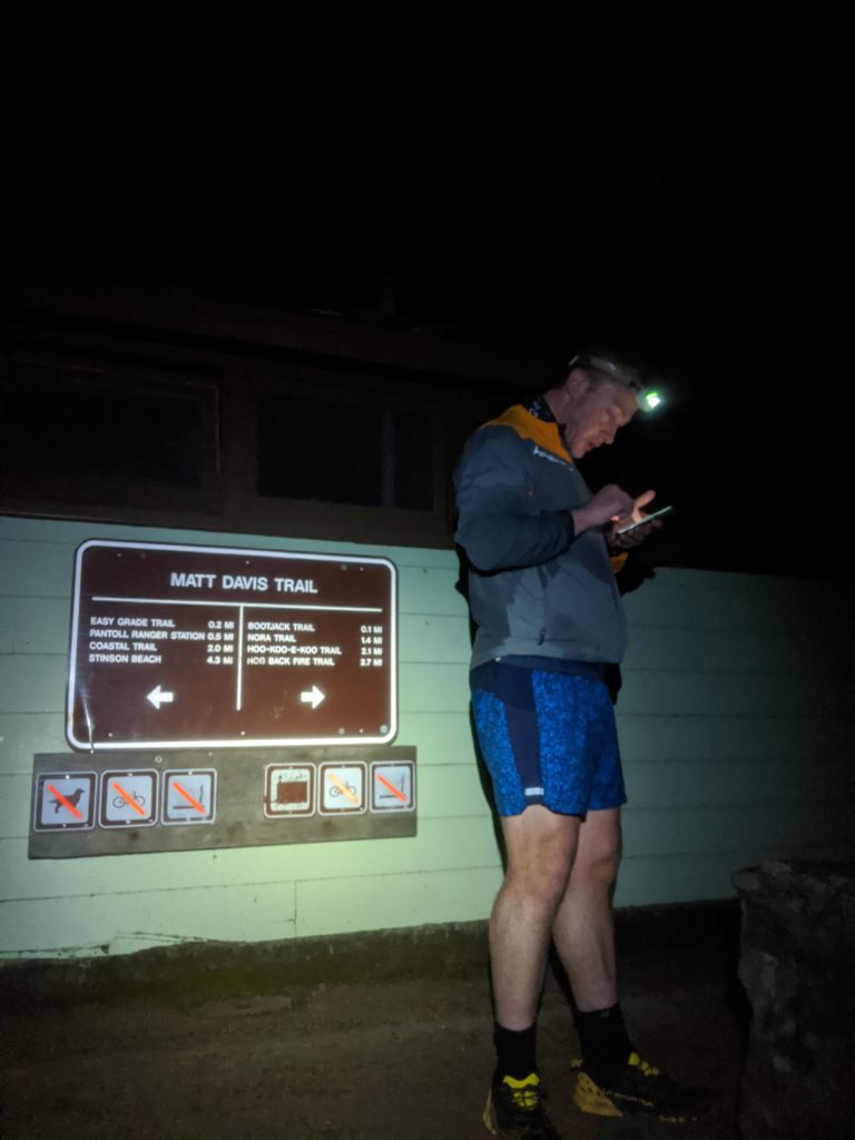 Fastest Known Time: From Stinson, To Tam Summit, To Diablo Summit 9