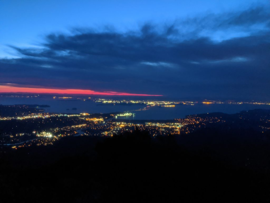 Fastest Known Time: From Stinson, To Tam Summit, To Diablo Summit 15