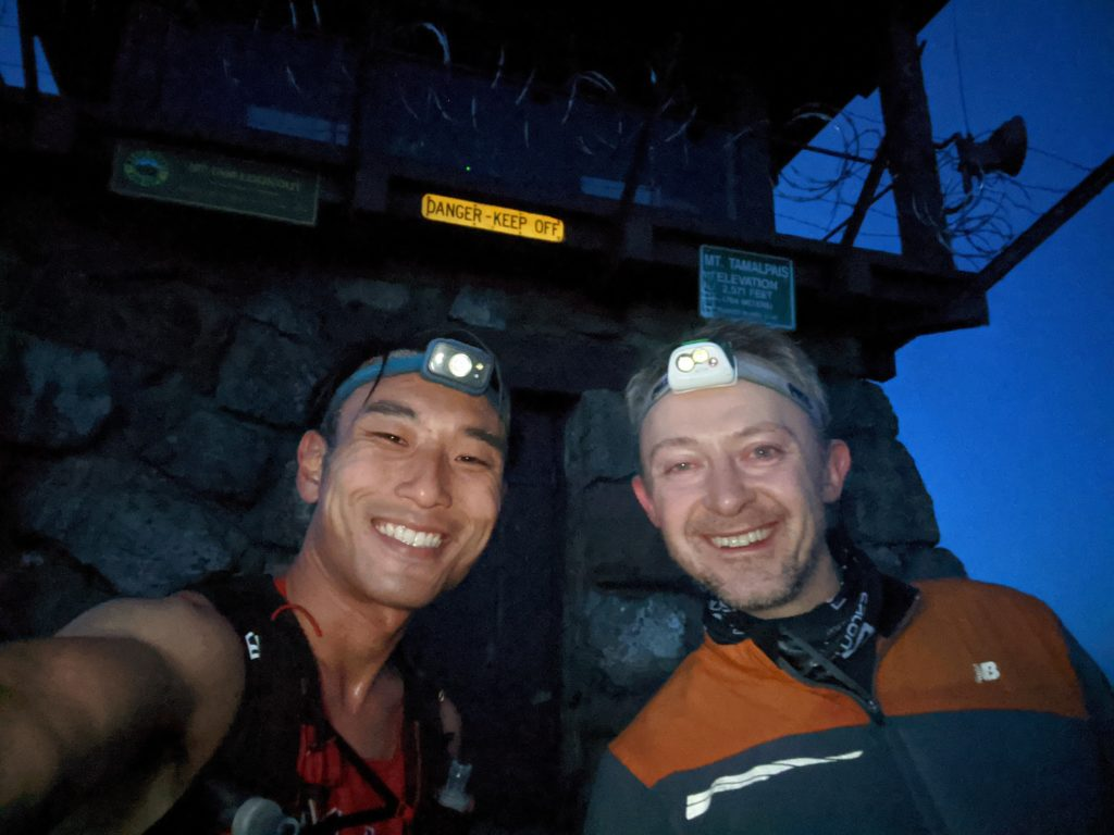 Fastest Known Time: From Stinson, To Tam Summit, To Diablo Summit 16