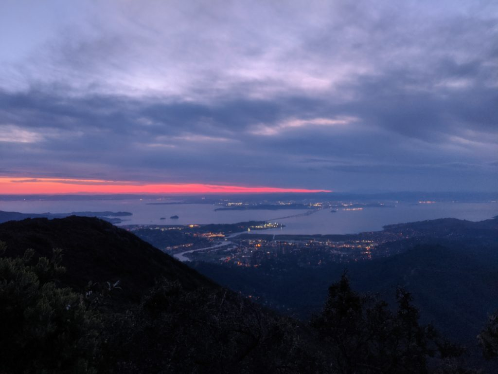 Fastest Known Time: From Stinson, To Tam Summit, To Diablo Summit 21