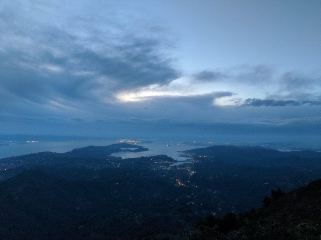 Fastest Known Time: From Stinson, To Tam Summit, To Diablo Summit 22