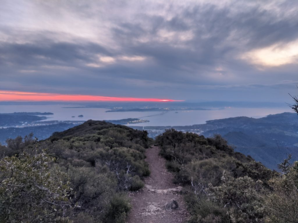 Fastest Known Time: From Stinson, To Tam Summit, To Diablo Summit 23
