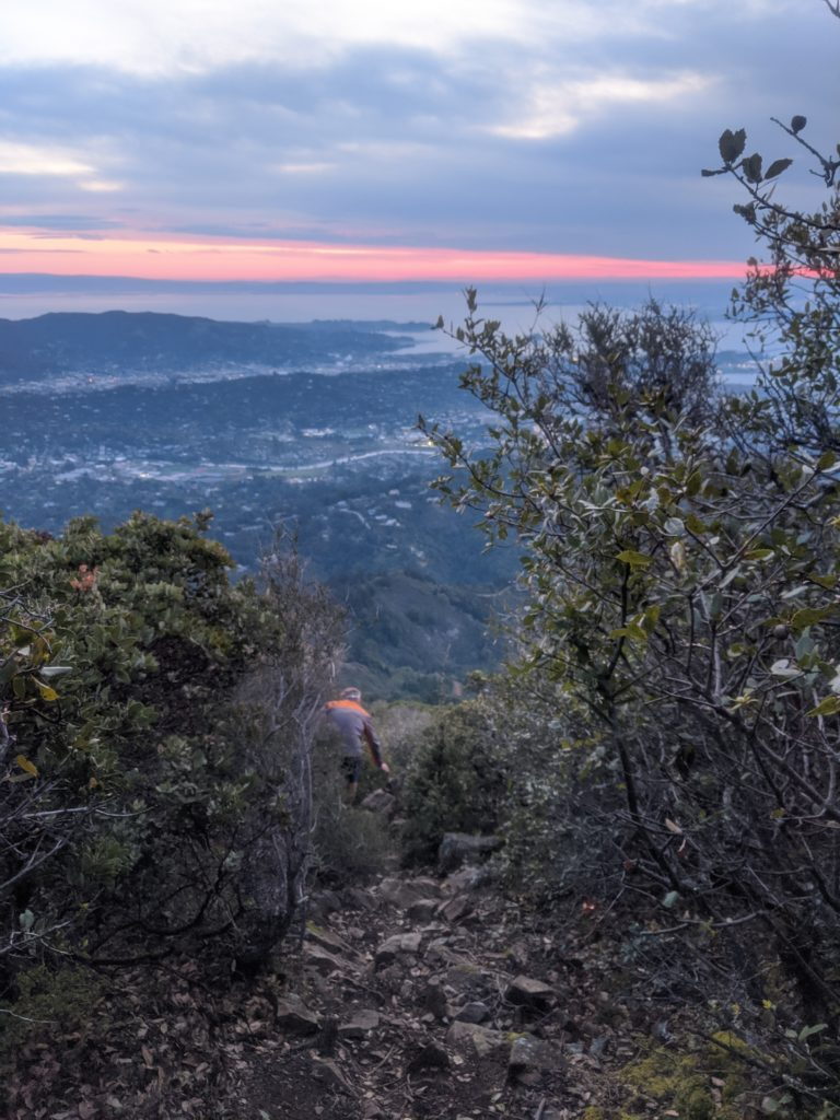 Fastest Known Time: From Stinson, To Tam Summit, To Diablo Summit 19