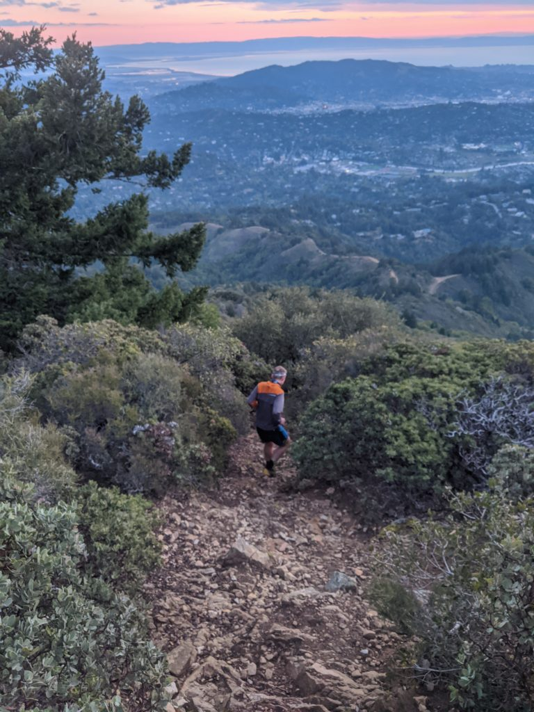 Fastest Known Time: From Stinson, To Tam Summit, To Diablo Summit 20