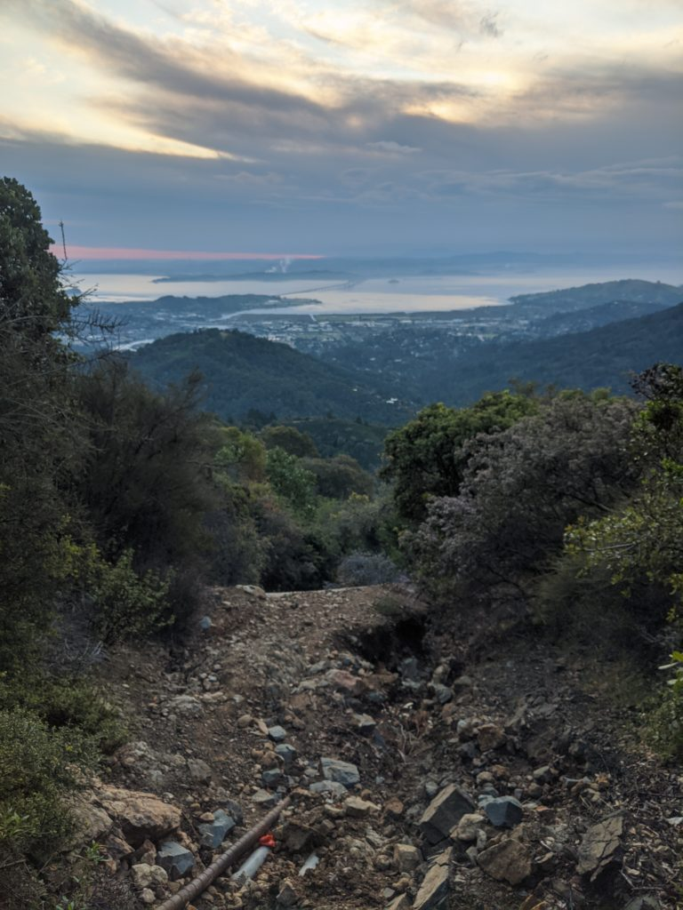 Fastest Known Time: From Stinson, To Tam Summit, To Diablo Summit 30