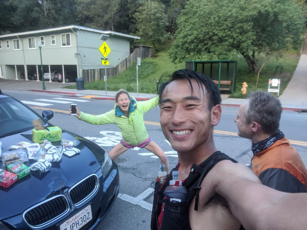 Fastest Known Time: From Stinson, To Tam Summit, To Diablo Summit 35