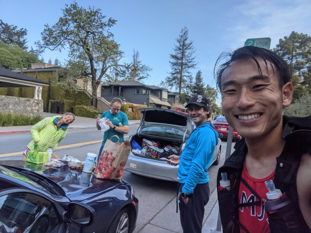Fastest Known Time: From Stinson, To Tam Summit, To Diablo Summit 36