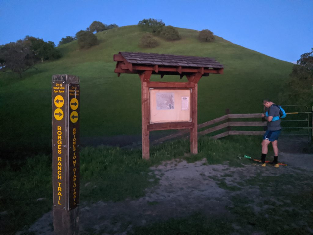 Fastest Known Time: From Stinson, To Tam Summit, To Diablo Summit 101