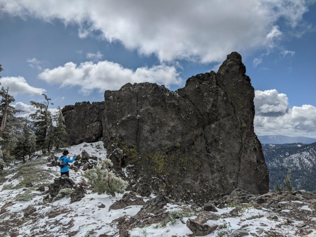 Journal: Sunday, June 7, 2020 // Partial Castle Peak Loop 62