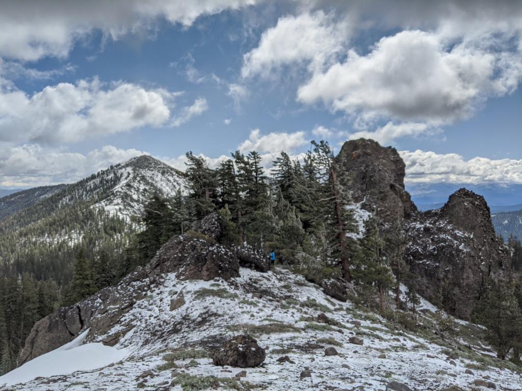 A Partial Castle Peak Loop 64